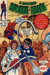Cover Thumbnail for El Asombroso Hombre Araña (Novedades, 1980 series) #127