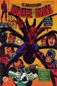 Cover Thumbnail for El Asombroso Hombre Araña (Novedades, 1980 series) #131