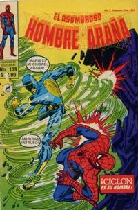 Cover Thumbnail for El Asombroso Hombre Araña (Novedades, 1980 series) #139