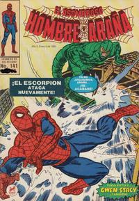 Cover Thumbnail for El Asombroso Hombre Araña (Novedades, 1980 series) #141