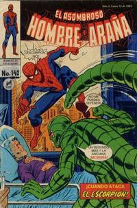 Cover Thumbnail for El Asombroso Hombre Araña (Novedades, 1980 series) #142