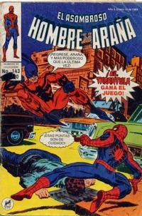 Cover Thumbnail for El Asombroso Hombre Araña (Novedades, 1980 series) #143