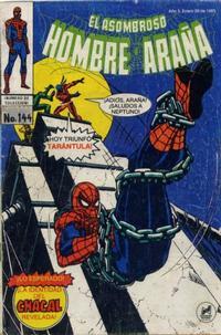 Cover Thumbnail for El Asombroso Hombre Araña (Novedades, 1980 series) #144