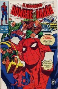 Cover Thumbnail for El Asombroso Hombre Araña (Novedades, 1980 series) #146