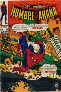 Cover Thumbnail for El Asombroso Hombre Araña (Novedades, 1980 series) #148