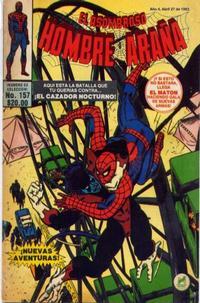 Cover Thumbnail for El Asombroso Hombre Araña (Novedades, 1980 series) #157