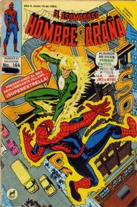 Cover Thumbnail for El Asombroso Hombre Araña (Novedades, 1980 series) #164