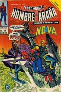 Cover Thumbnail for El Asombroso Hombre Araña (Novedades, 1980 series) #167
