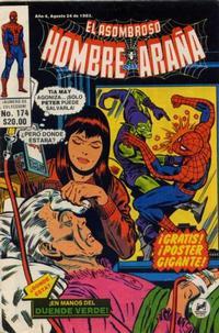 Cover Thumbnail for El Asombroso Hombre Araña (Novedades, 1980 series) #174