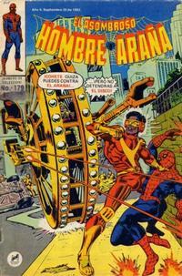 Cover Thumbnail for El Asombroso Hombre Araña (Novedades, 1980 series) #179