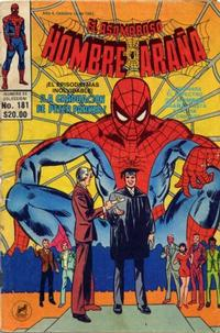Cover Thumbnail for El Asombroso Hombre Araña (Novedades, 1980 series) #181