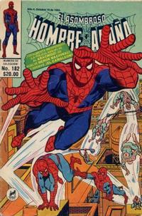 Cover Thumbnail for El Asombroso Hombre Araña (Novedades, 1980 series) #182