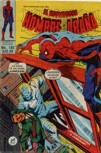 Cover Thumbnail for El Asombroso Hombre Araña (Novedades, 1980 series) #185