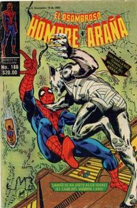 Cover Thumbnail for El Asombroso Hombre Araña (Novedades, 1980 series) #186