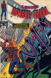 Cover Thumbnail for El Asombroso Hombre Araña (Novedades, 1980 series) #187