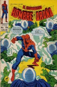 Cover Thumbnail for El Asombroso Hombre Araña (Novedades, 1980 series) #194