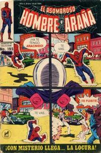 Cover Thumbnail for El Asombroso Hombre Araña (Novedades, 1980 series) #195