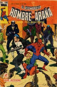 Cover Thumbnail for El Asombroso Hombre Araña (Novedades, 1980 series) #199