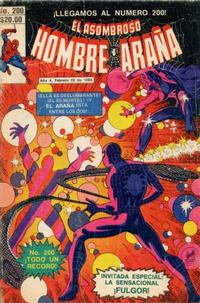 Cover Thumbnail for El Asombroso Hombre Araña (Novedades, 1980 series) #200