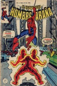 Cover Thumbnail for El Asombroso Hombre Araña (Novedades, 1980 series) #205