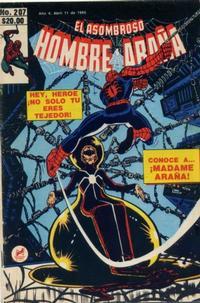 Cover Thumbnail for El Asombroso Hombre Araña (Novedades, 1980 series) #207
