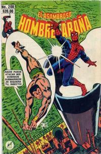 Cover Thumbnail for El Asombroso Hombre Araña (Novedades, 1980 series) #208
