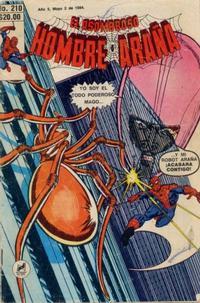Cover Thumbnail for El Asombroso Hombre Araña (Novedades, 1980 series) #210