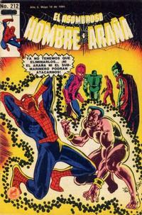 Cover Thumbnail for El Asombroso Hombre Araña (Novedades, 1980 series) #212