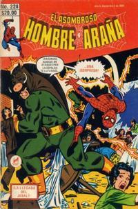 Cover Thumbnail for El Asombroso Hombre Araña (Novedades, 1980 series) #228