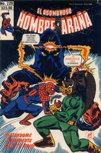 Cover Thumbnail for El Asombroso Hombre Araña (Novedades, 1980 series) #229