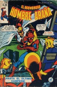 Cover Thumbnail for El Asombroso Hombre Araña (Novedades, 1980 series) #232
