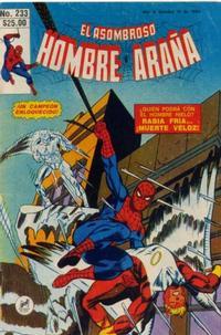 Cover Thumbnail for El Asombroso Hombre Araña (Novedades, 1980 series) #233