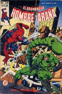 Cover Thumbnail for El Asombroso Hombre Araña (Novedades, 1980 series) #236