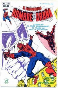 Cover Thumbnail for El Asombroso Hombre Araña (Novedades, 1980 series) #241