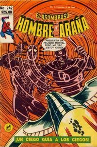 Cover Thumbnail for El Asombroso Hombre Araña (Novedades, 1980 series) #242