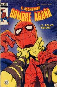 Cover Thumbnail for El Asombroso Hombre Araña (Novedades, 1980 series) #244