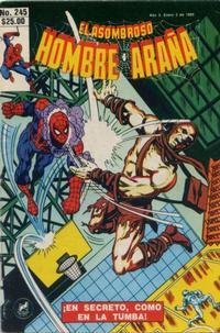 Cover Thumbnail for El Asombroso Hombre Araña (Novedades, 1980 series) #245
