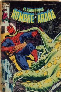 Cover Thumbnail for El Asombroso Hombre Araña (Novedades, 1980 series) #246