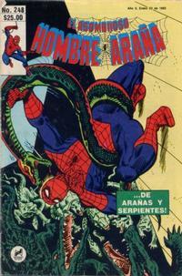 Cover Thumbnail for El Asombroso Hombre Araña (Novedades, 1980 series) #248