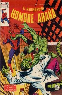 Cover Thumbnail for El Asombroso Hombre Araña (Novedades, 1980 series) #249
