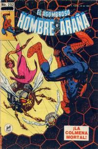 Cover Thumbnail for El Asombroso Hombre Araña (Novedades, 1980 series) #252