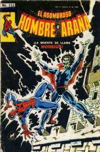Cover Thumbnail for El Asombroso Hombre Araña (Novedades, 1980 series) #253
