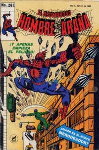Cover Thumbnail for El Asombroso Hombre Araña (Novedades, 1980 series) #261