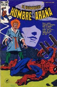 Cover Thumbnail for El Asombroso Hombre Araña (Novedades, 1980 series) #262