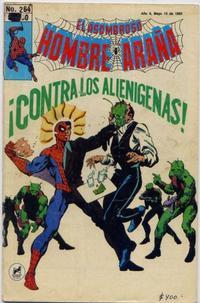 Cover Thumbnail for El Asombroso Hombre Araña (Novedades, 1980 series) #264
