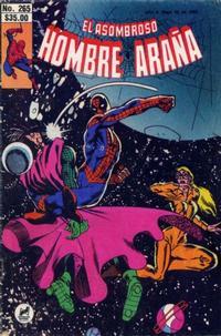 Cover Thumbnail for El Asombroso Hombre Araña (Novedades, 1980 series) #265