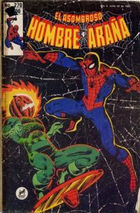 Cover Thumbnail for El Asombroso Hombre Araña (Novedades, 1980 series) #270