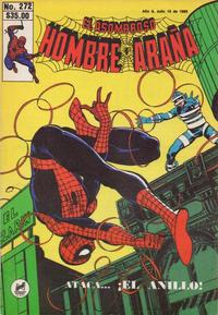 Cover Thumbnail for El Asombroso Hombre Araña (Novedades, 1980 series) #272