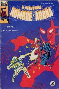 Cover Thumbnail for El Asombroso Hombre Araña (Novedades, 1980 series) #275