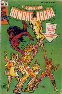 Cover Thumbnail for El Asombroso Hombre Araña (Novedades, 1980 series) #276